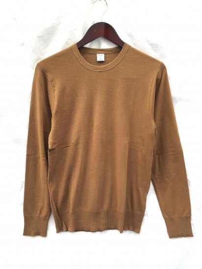 Gicipi Cotton Knit Made in Italy Chocolate
