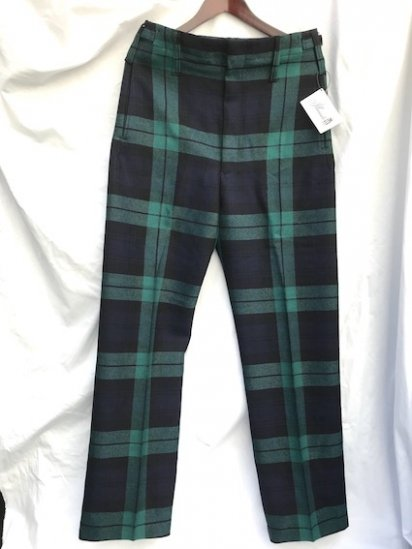 Dead Stock Royal Regiment of Scotland Wool Parade Trousers Black Watch