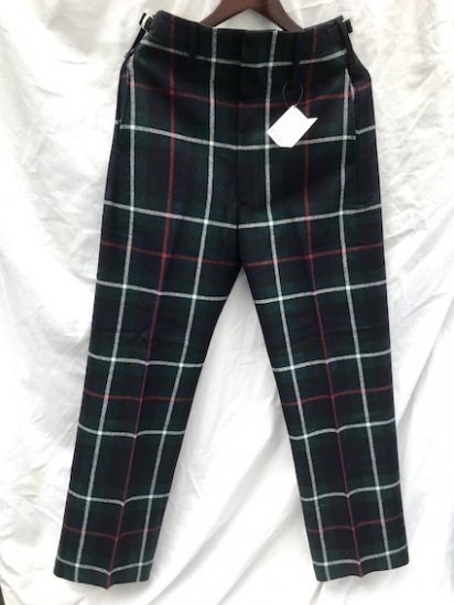 Dead Stock Royal Regiment of Scotland Wool Parade Trousers Mackenzie