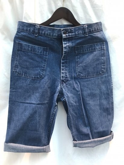 80's〜Vintage U.S.Navy Cut off Shorts