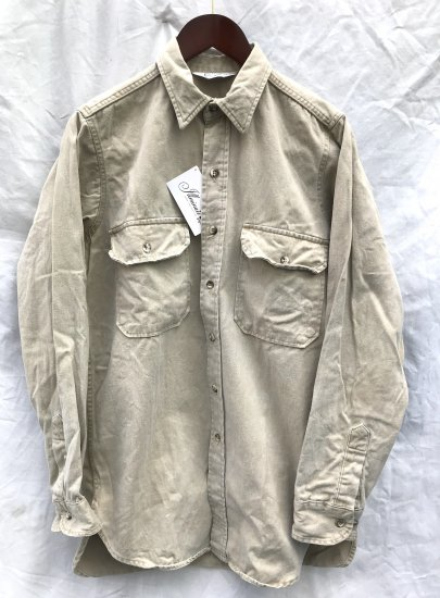70's Vintage Five Brothers Chino Shirts MADE IN U.S.A