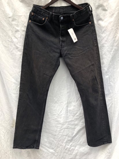 90's Levi's 501 Made in U.S.A Black / 2