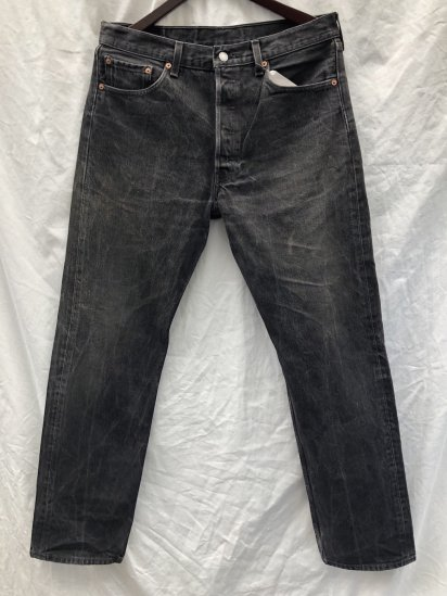 90's Levi's 501 Made in U.S.A Black / 3