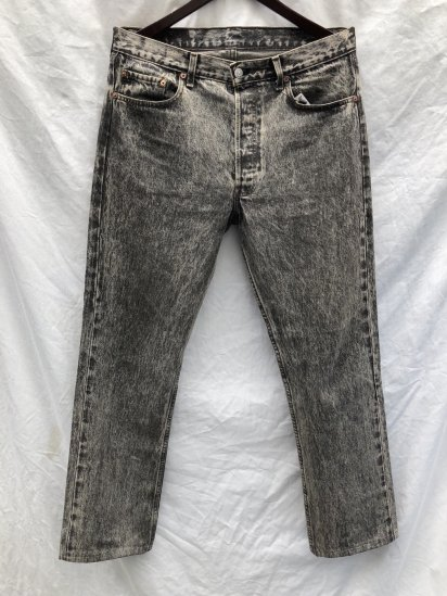90's Levi's 501 Made in France Black / 7