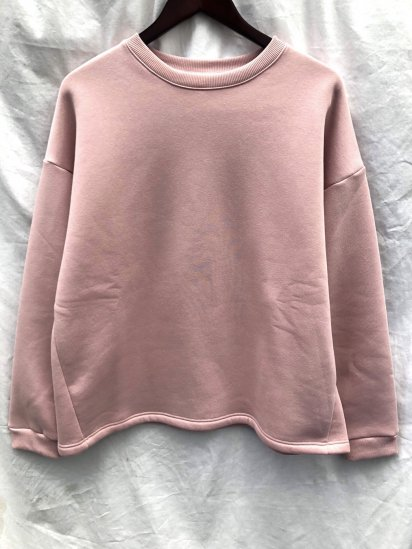 VESTI Big Sweat Shirt Made in Italy Light Pink