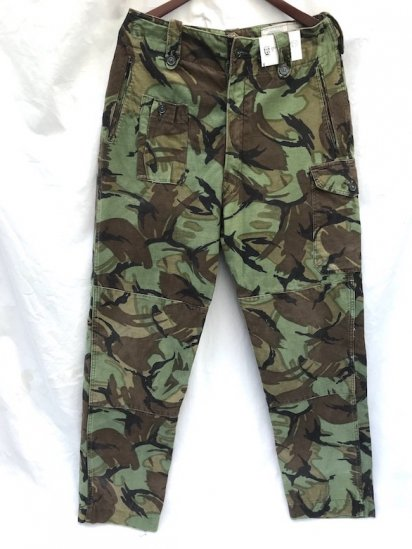 60's Vintage British Army 1960 Pattern Combat Trousers DPM / 1