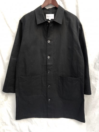 KESTIN HARE Munro Shop Coat Made in U.K Black