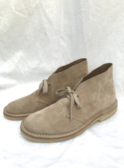 NPS Suede CHUKKA BOOTS MADE IN ENGLAND Beige