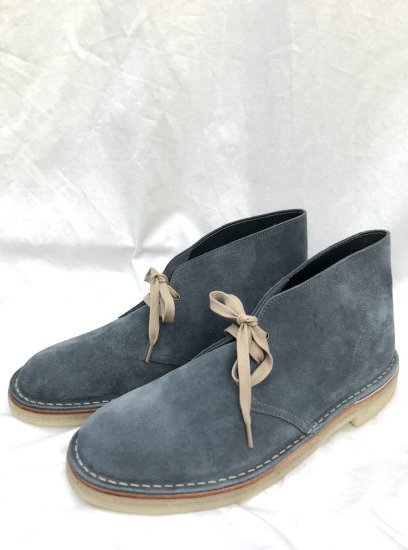 NPS Suede CHUKKA BOOTS MADE IN ENGLAND Blue Denim