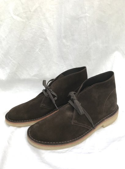NPS Suede CHUKKA BOOTS MADE IN ENGLAND Brown
