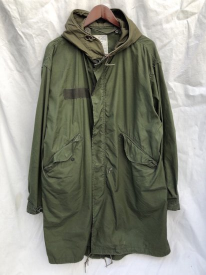 80's Vintage US Army M-65 Fish Tail Parka Modified