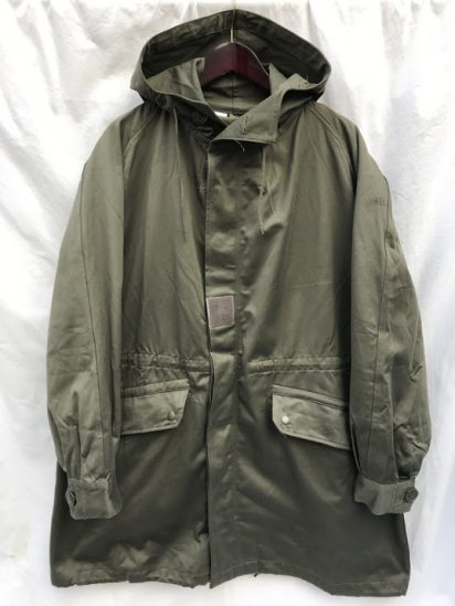 70's ~ 80's Vintage Dead Stock French Army M-64 Parka
