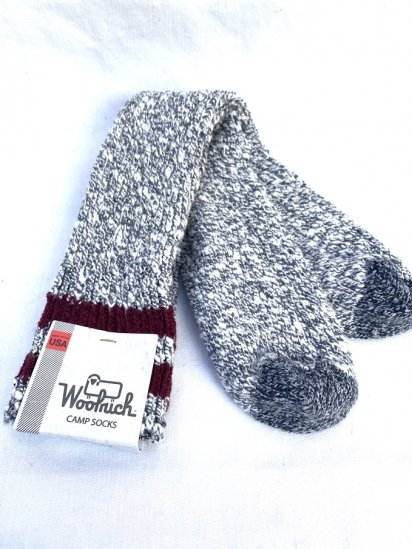 Woolrich Camp Socks Made In USA / 1