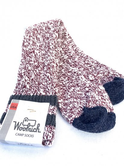 Woolrich Camp Socks Made In USA / 3
