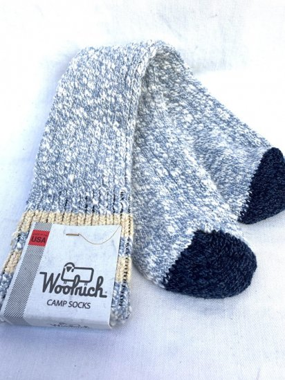 Woolrich Camp Socks Made In USA / 5