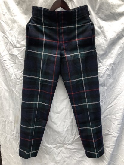 60's ~ 70's Vintage Dead Stock Royal Regiment of Scotland Wool Parade Trousers Mackenzie / 3