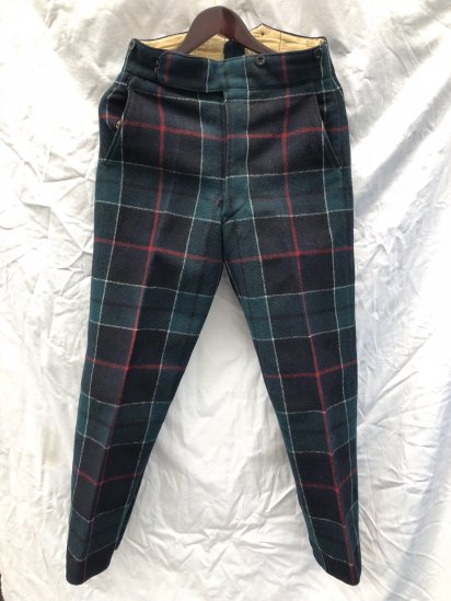 1951 Dated 50's Vintage Royal Regiment of Scotland Wool Parade Trousers Leslie / 4