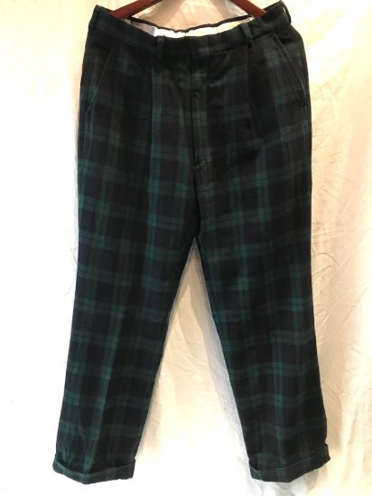 70's Vintage Pendleton Wool TRousers MADE IN U.S.A
