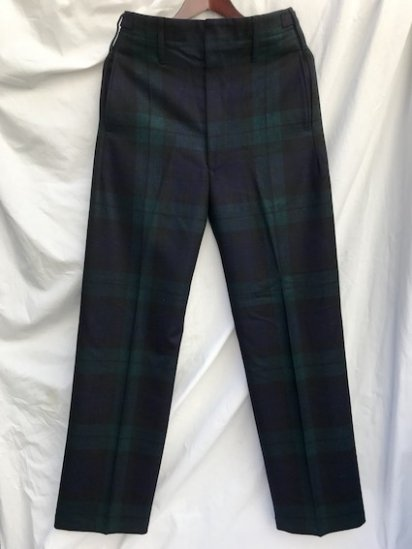 Dead Stock Royal Regiment of Scotland Wool Parade Trousers Black Watch (Dark)