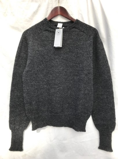 ESK IAIN Crew Neck MADE IN SCOTLAND Charcoal
