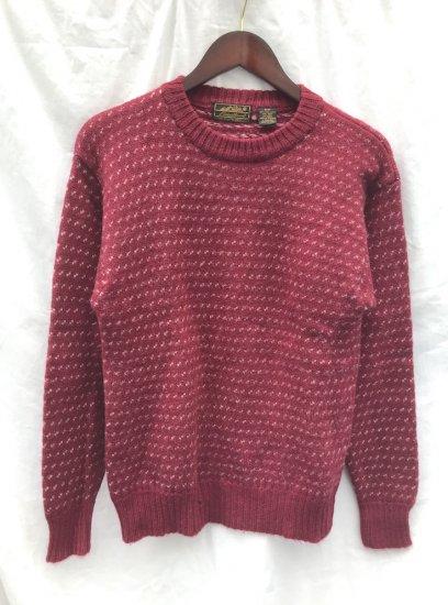 80's ~ Vintage Eddie Bauer Sweater Wine