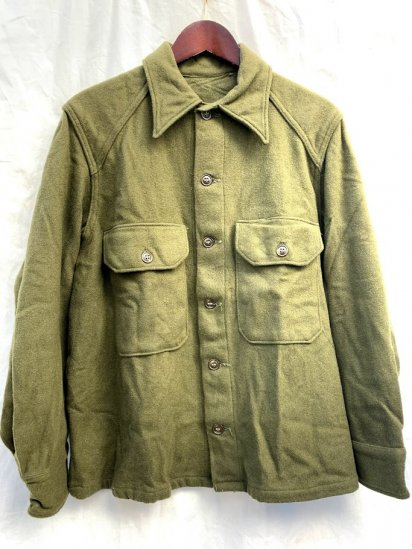 50s Vintage DeadStock US Army Wool Shirts