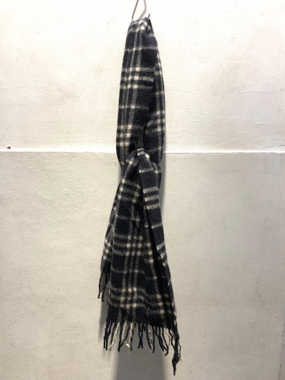 Vintage Burberrys' Cashmere Muffler MADE IN ENGLAND / 5
