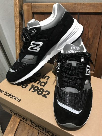 New Blance 1530 Made in ENGLAND Black Suede