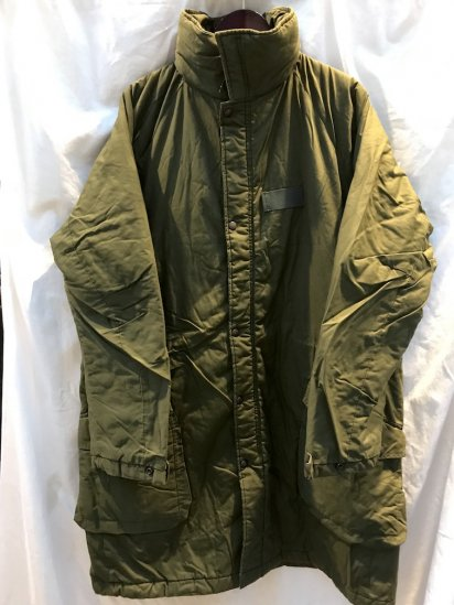 90's Vintage Swedish Army M90 Insulation Coat Olive 190/85