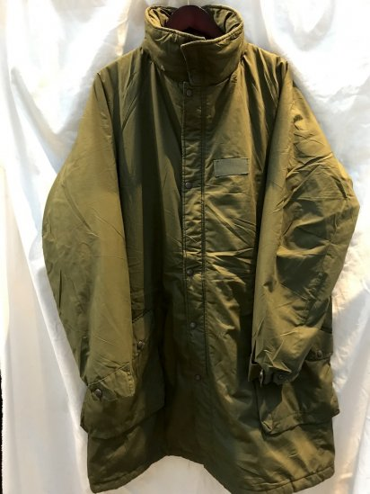 90's Vintage Swedish Army M90 Insulation Coat Olive 190/95