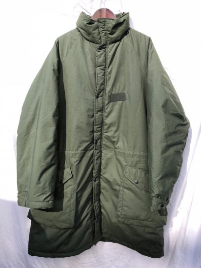 90's Vintage Swedish Army M90 Insulation Coat