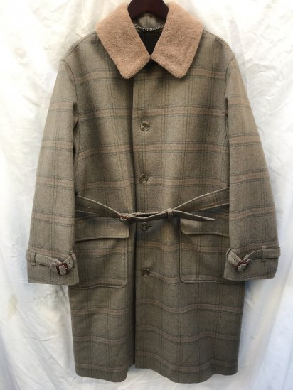 """80's ~ 90's Vintage Dead Stock """"INVERTERE"""" Over Coat Made in England"""