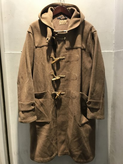Early 50's Vintage Gloverall Duffle Coat Khaki / 1