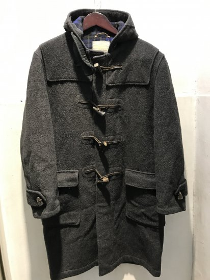 50's ~ 60's Vintage Gloverall Duffle Coat Charcoal / 3