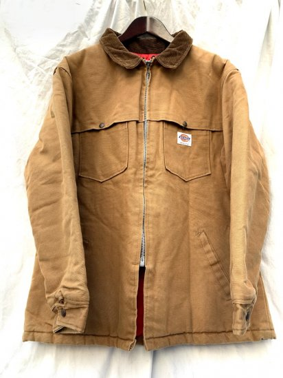 90s Old Dickies Quilting Lined Duck Jacket Made In USA