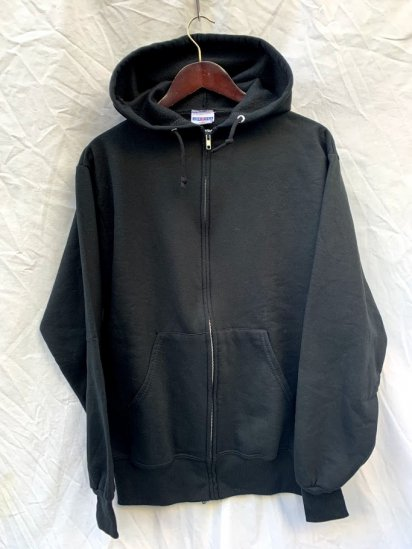 90s Old JERZEES Zip Up Parka Made In Mexico