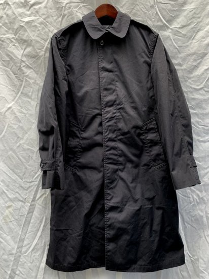 80s Vintage US Navy All Weather Coat With Lining