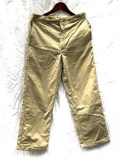 50s Vintage LL.Bean Cotton Drill Chino Pants