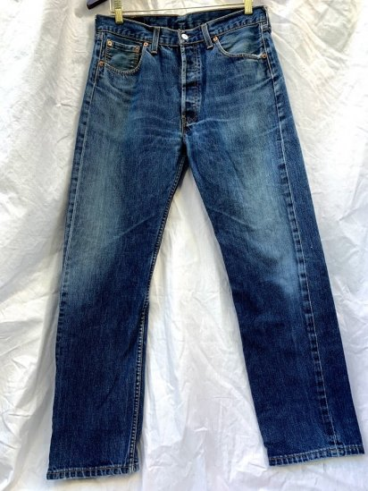90s Old LEVIS 501 Denim Pants Made In UK