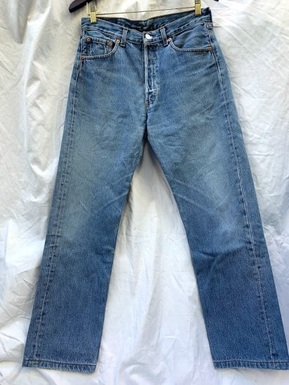 90s Old LEVIS 501 Denim Pants Made In Spain