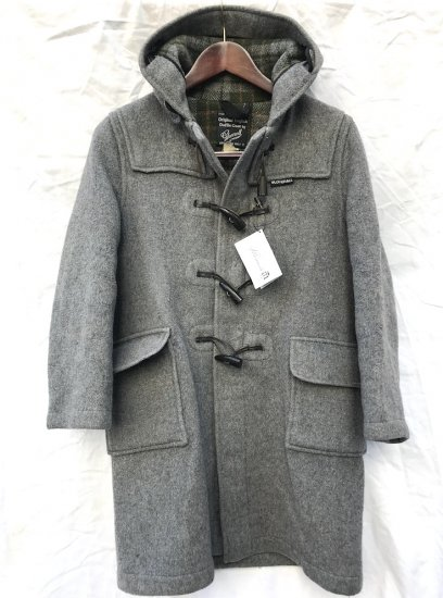 80′s Vintage Gloverall Duffle Coat Made in ENGLAND Gray