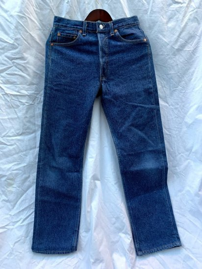 90s Old LEVIS 501 Denim Pants Made In USA Mint Condition / 1