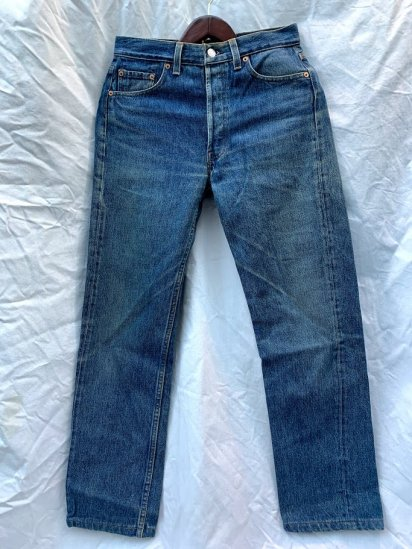 90s Old LEVIS 501 Denim Pants Made In USA Good Condition / 2