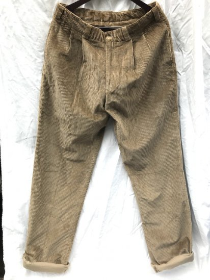 Dead Stcock BILLS KHAKIS Corduroy Trousers MADE IN U.S.A Brown