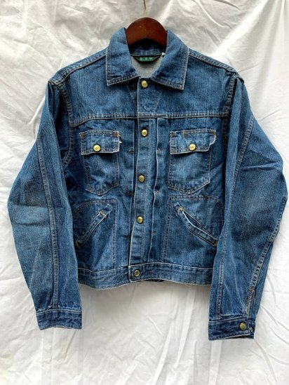60s∼70s Vintage ELY Denim Jacket Made In USA