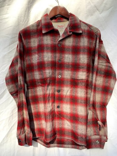 50s Vintage Buck Skein Brand Open Color Shirts Made In USA