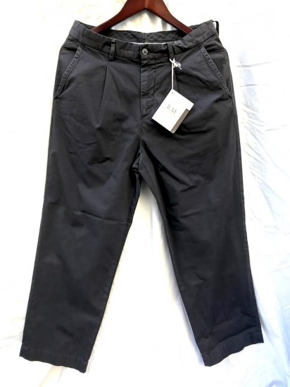 RICCARDO METHA 1tac Rip Stop Trousers MADE IN ITALY Black