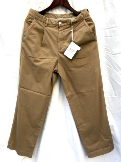 RICCARDO METHA 1tac Rip Stop Trousers MADE IN ITALY Brown