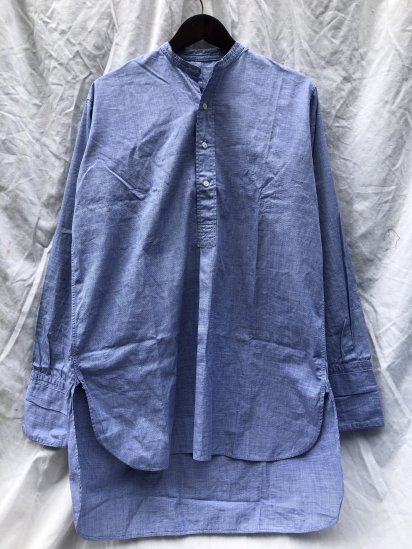 50's Vintage 1954 Dated RAF Officer Shirts Pull Over Blue