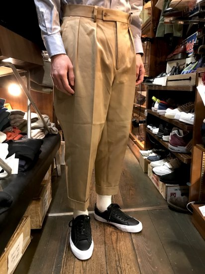 RICHFIELD C-5 High Density Chino Cross  Trousers MADE IN JAPAN
